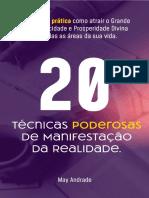 20+Te Cnicas+Poderosas+de+Manifestac a o+Da+Realidade+-+May+Andrade