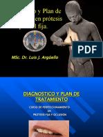diagnóstico y plan de tratamiento en prótesis fíja.