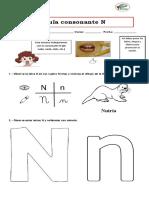 Guía consonante N