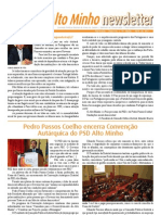 Newsletter Abril 2011