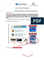 Tutorial inscripción cursos tucuman educar