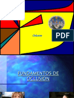 FUNDAMENTOS DE OCLUSION