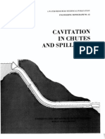 Cavitation in Chutes and Spillways. Engineering monograph nº 42, USA Bureau of Reclamation