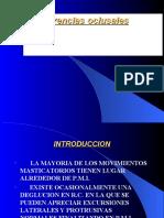 Interferencias oclusales
