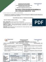 PLANEACIONES FORMACION CIVICA Y ETICA PRONAB 2010-2011