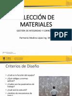 5.  SELECCIÓN DE MATERIALES