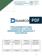 PROG-001 CODIFICACION DE HERRAMIENTAS
