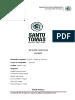 Proyecto Creación y Gestión de Ampresas (Servicio de Aseo)