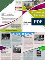 Boletín Informativo Interno de la UPeU - 01/04/2011