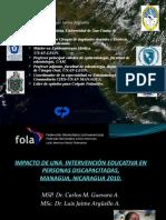 CIES-IMPACTO DE UNA  INTERVENCIÓN EDUCATIVA EN PERSONAS DISCAPACITADAS (2)