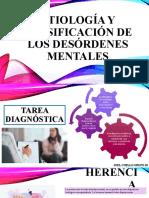 ETIOLOGÍA Y CLASIFICACIÓN DE LOS DESÓRDENES MENTALES