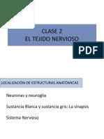 CLASE 2 DE LOS TÉCNICOS. El tejido Nervioso