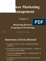 Services Marketing  Ch.4
