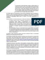 Analisis Educacion en Epoca de Pandemia