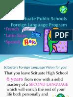 World Language 6th Grade Presentation