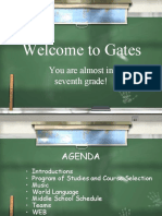 6th Grade Presentation Students