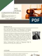 El Objetivo Del Derecho Procesal Constitucional