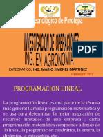 UNIDAD II PROG LINEAL