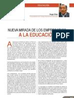 Nueva mirada de los empresarios a la educación - Hugo Díaz