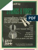 Jazz Ambassadors - Event Flyers