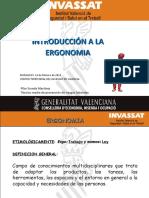 Valencia 2014 Nivel básico 1  Ponencia Ergonomia Pilar Sureda 2