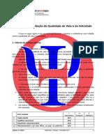 9.5. IAQVF - Inventário de Avaliação da Qualidade II de Vida e da Felicidade