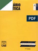 TEXTO 1 - NORBERTO BOBBIO - Direito - Dicionário de Política
