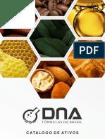 Catálogo de Ativos DNA Fórmulas do Brasil