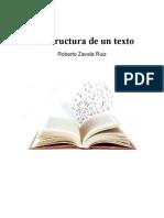 La estructura de un texto - Zavala Ruiz