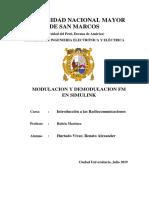 MODULACION Y DEMODULACION FM EN SIMULINK