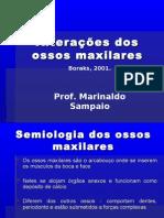 Patologia Bucal - Alteração dos Ossos Maxilares(sem figuras)
