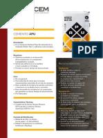 Ficha Tecnica_cemento Apu