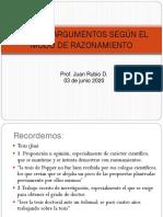 Cuarto Medio Lenguaje y Comunicación Apunte y Ejercicios Tipos de Argumentos