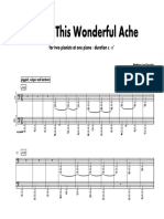 Aching This Wonderful Ache [two pianists at one piano]