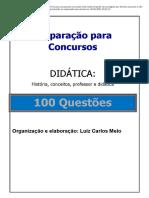 17.SIMULADO 100 QUESTÕES DIDÁTICA com gabarito _ Passei Direto