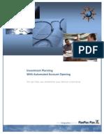 Investment Planning Cycle (Planplus) - Befektetéstervezés életciklusa