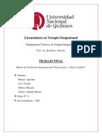 Modelo Facilitación Neuromuscular Propioceptiva
