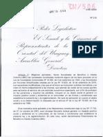 Ley de Sociedades de Beneficio e Interés Colectivo de Uruguay