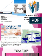EXPOSICION GRUPO CODIGO DE ETICA DEL ADMINISTRADOR