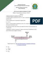 Coeficiente global de transferência térmica U_