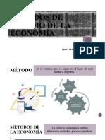 MÉTODOS DE ESTUDIO DE LA ECONOMÍA 1