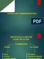 Lenguaje y Proposiciones
