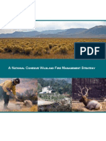 A National Cohesive Wildland Fire Management Strategy