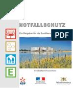 Notfallschutzbroschüre Atomkraftwerk Fessenheim