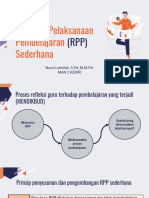 RPP Sederhana Nurul Lathifah