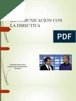 Comunicación Con Directivos