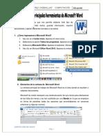 SESIÓN 01_HOJAS DE LA CLASE_WORD 2°