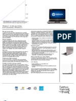 HP Pavilion dm4-1075br Notebook PC