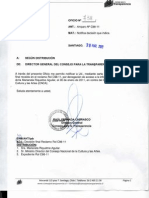 Consejo para la Transparencia ordena entregar información que había sido denegada a ANFUCULTURA por el Ministro Cruz Coke