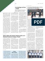Crónica Jornada de la liga de Bolopalma de Asturias, El Oriente de Asturias (1 de abril)